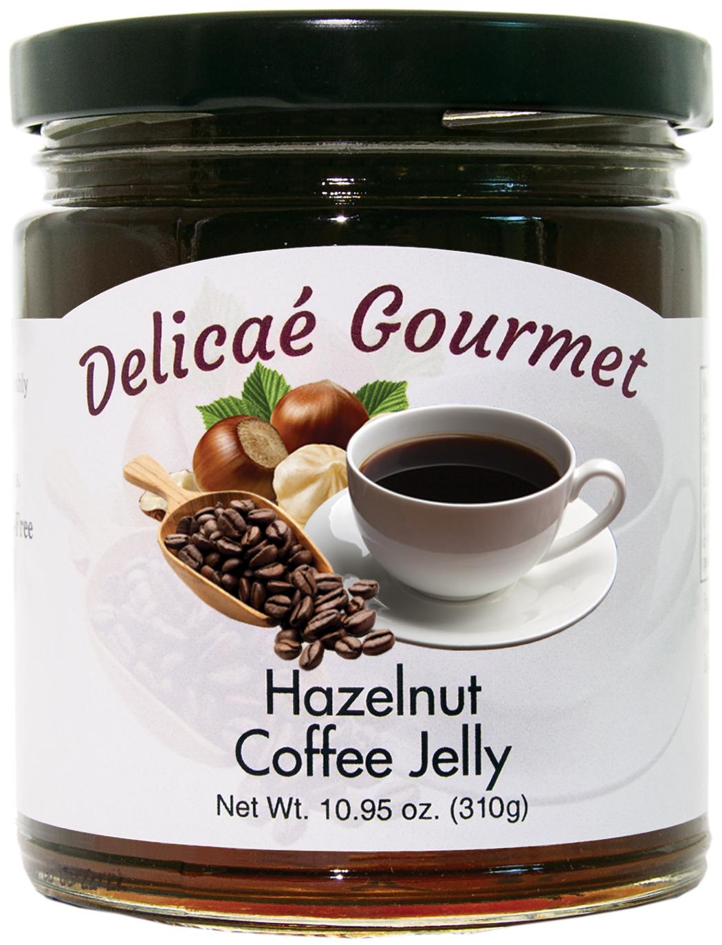 "Hazelnut Coffee Jelly ""Gluten-Free"""