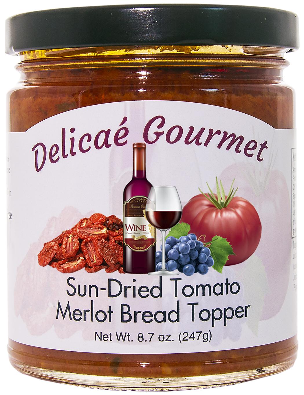 """Sun-Dried Tomato Merlot Bread Topper """"Gluten-Free"""""""