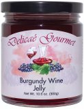 "Burgundy Wine Jelly ""Gluten-Free"""