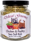 "Chicken & Poultry Sea Salt Rub ""Gluten-Free"""
