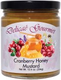 "Cranberry Honey Mustard ""Gluten-Free"""