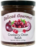 "Cranberry Onion Relish ""Gluten-Free"""