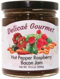 "Hot Pepper Raspberry Bacon Jam ""Gluten-Free"""