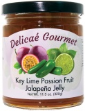 "Key Lime Passion Fruit Jalapeno Jelly ""Gluten-Free"""