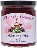 "Mulled Port Wine Jelly ""Gluten-Free"""