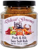"Pork & Rib Sea Salt Rub ""Gluten-Free"""