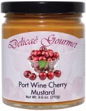 "Port Wine Cherry Mustard ""Gluten-Free"""