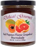 "Red Papaya Flame Grapefruit Marmalade ""Gluten-Free"""