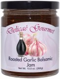 "Roasted Garlic Balsamic Jam ""Gluten-Free"""