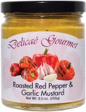 "Roasted Red Pepper Garlic Mustard ""Gluten-Free"""