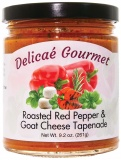 "Roasted Red Pepper and Goat Cheese Tapenade ""Gluten-Free"""