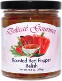 "Roasted Red Pepper Relish ""Gluten-Free"""