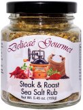 "Steak & Roast Sea Salt Rub ""Gluten-Free"""