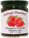 "Strawberry Zinfandel Balsamic Jam ""Gluten-Free"""