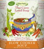 "Thai Curry Lentil Soup ""Gluten-Free"""