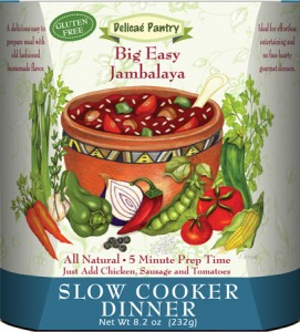 "Big Easy Jambalaya Slow Cooker Dinner ""Gluten-Free"""