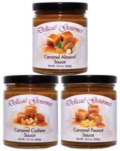 Caramel Nut Collection