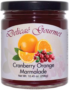 "Cranberry Orange Marmalade ""Gluten-Free"""
