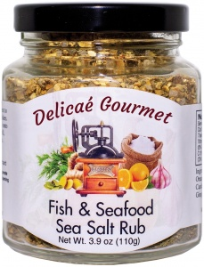 "Fish & Seafood Sea Salt Rub ""Gluten-Free"""