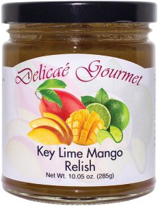 "Key Lime Mango Relish ""Gluten-Free"""