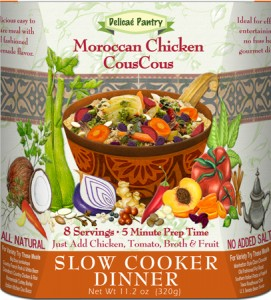 Moroccan Chicken CousCous Slow Cooker Dinner