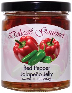 "Red Pepper Jalapeno Jelly ""Gluten-Free"""