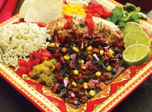 "Santa Fe Chicken with Black Beans Slow Cooker Dinner ""Gluten-Free"""