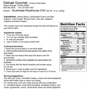 "Southwest Roadhouse Chili Slow Cooker Dinner ""Gluten-Free"""