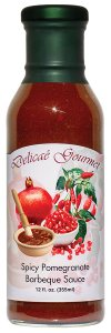 "Spicy Pomegranate Barbeque Sauce ""Gluten-Free"""