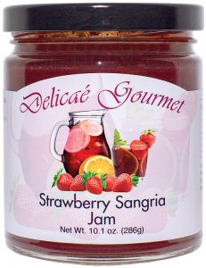 "Strawberry Sangria Jam ""Gluten-Free"""