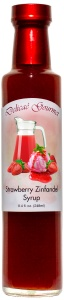 Strawberry Zinfandel Fruit & Wine Syrup