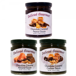 Chocolate Caramel Nut Collection